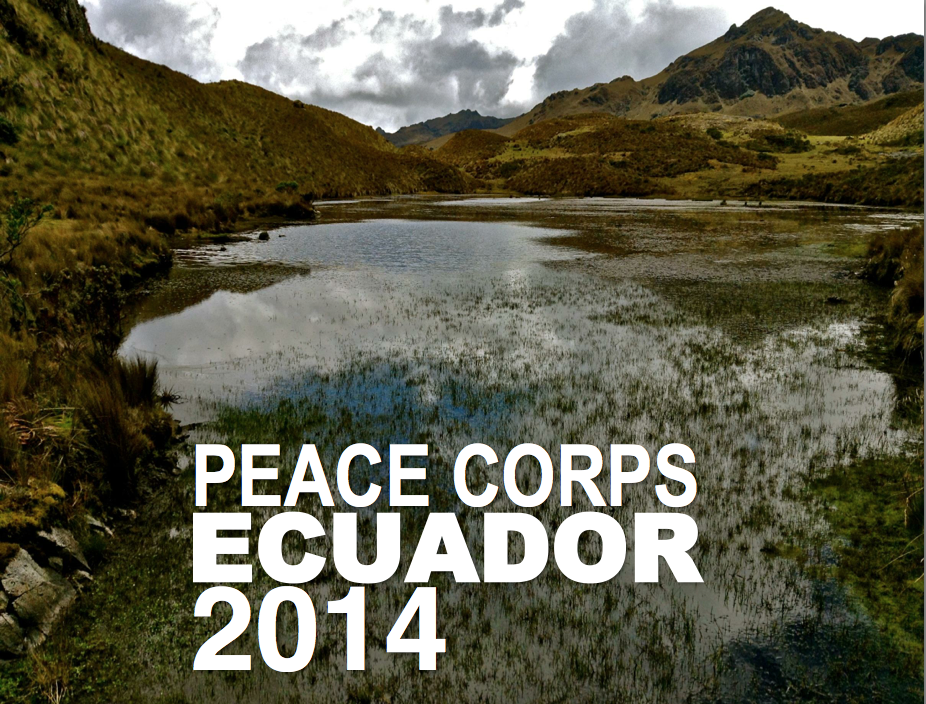 2014 Peace Corps Ecuador Calendars on Sale Now