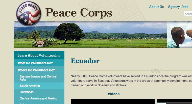 Staff Changes at PC Ecuador including New Country Director