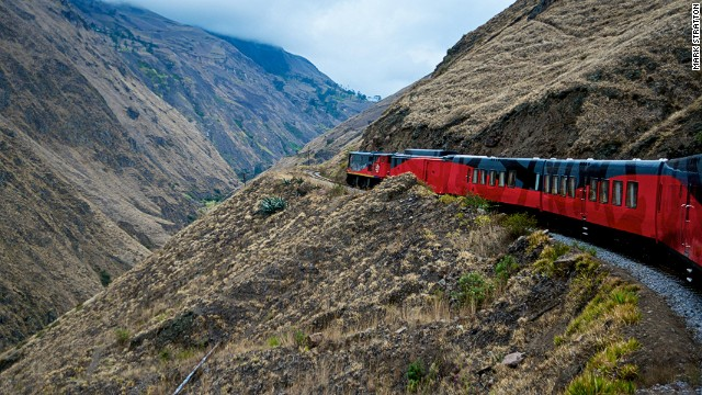 Train from Guayaquil to Quito Rises Again