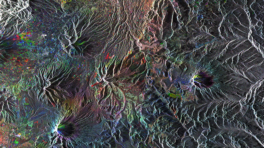 Ecuador's Volcanoes from Space