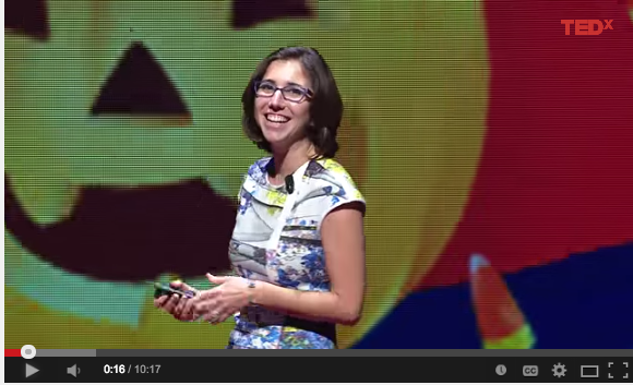 RPCV Ecuador Sadie Funk's TEDx talk on the upside of failure and Peace Corps Service