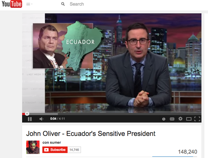 Two Videos on Ecuador – One to Make You Laugh and One to Make You Cry