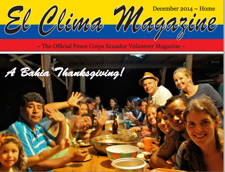 Stories from El Clima Winter 2014 – Pumpkin Curry Soup Recipe
