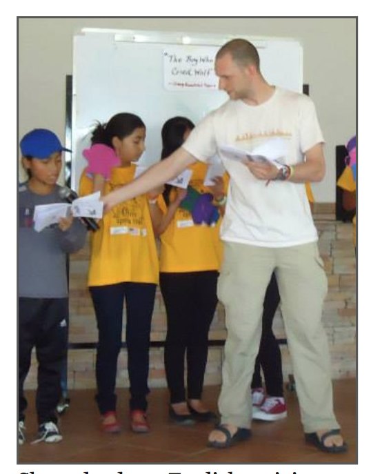 A TEFL Volunteer Talks about His Experience
