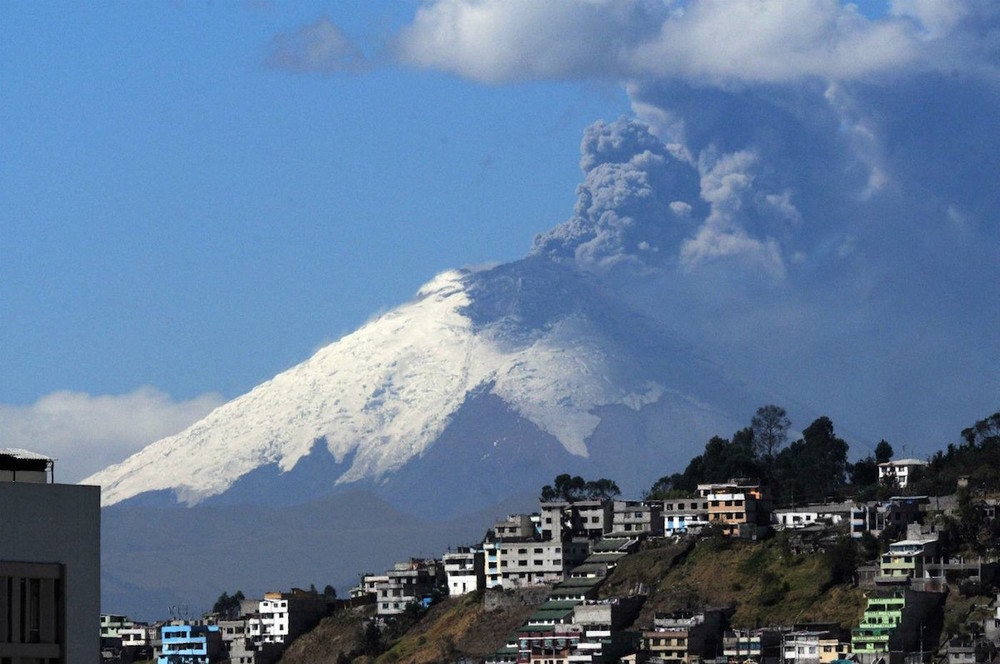 Hey Cotopaxi is active again!