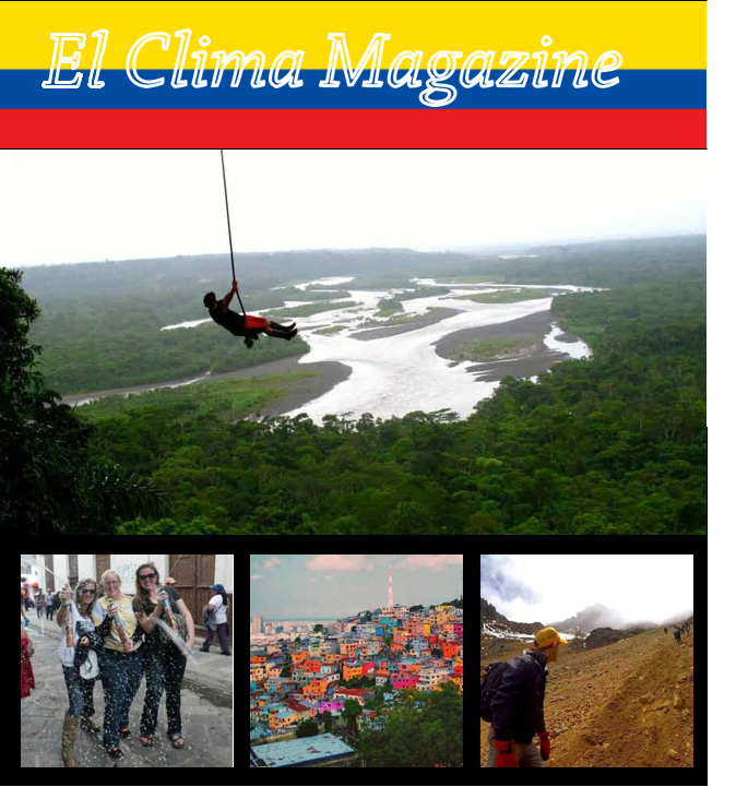 June 2015 El Clima – From the Editors
