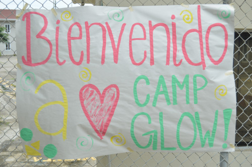 Camp GLOW Thanks to Friends of Ecuador